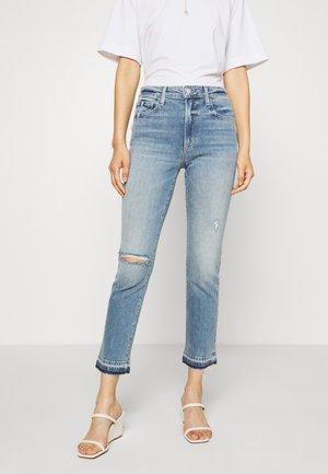 THE LUNA CIGARETTE ANKLE - Slim fit jeans - rosehip