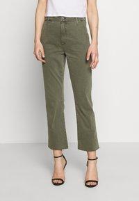 Joe's Jeans - THE SLIM KICK TROUSER - Bootcut jeans - deep celadon - 0