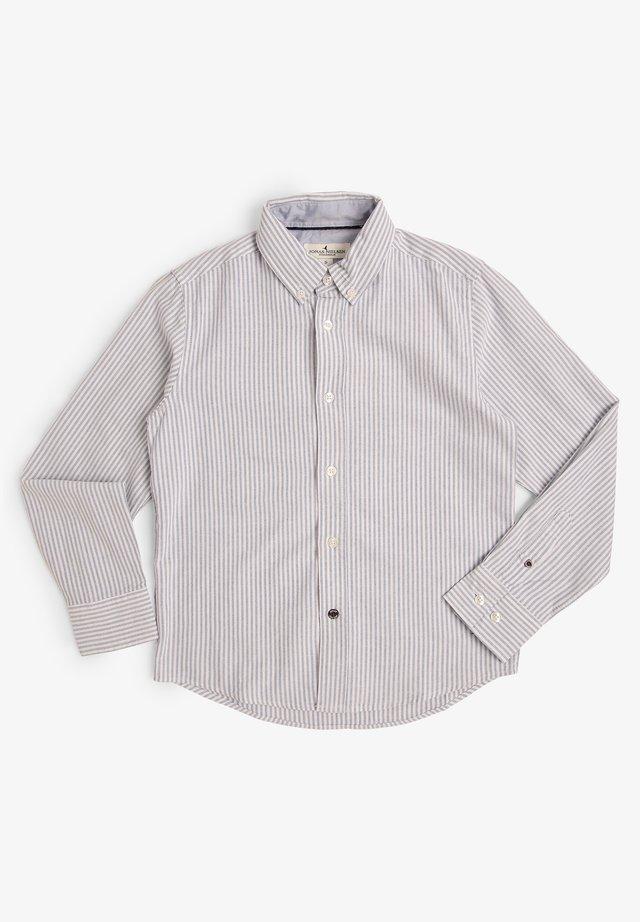 Shirt - hellblau ecru