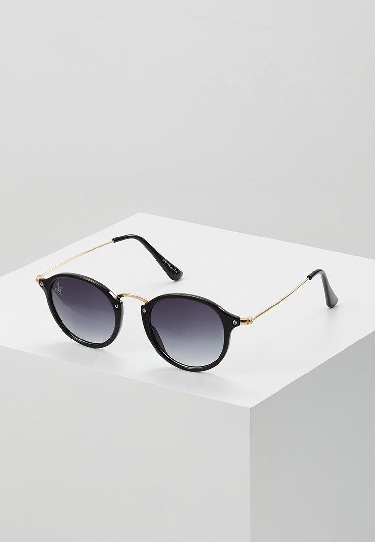 Jeepers Peepers - CASPER - Sluneční brýle - black/gold-coloured