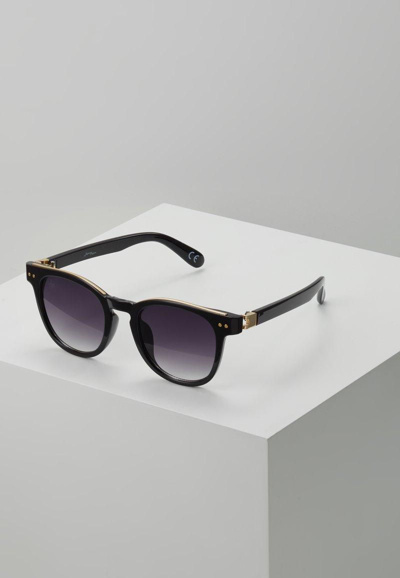 Jeepers Peepers - Sluneční brýle - black/gold-coloured