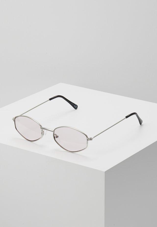 Solbriller - silver-coloured/pink