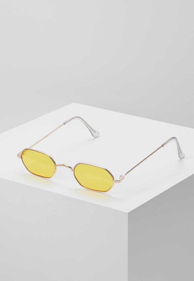 Zonnebril - gold/yellow lens