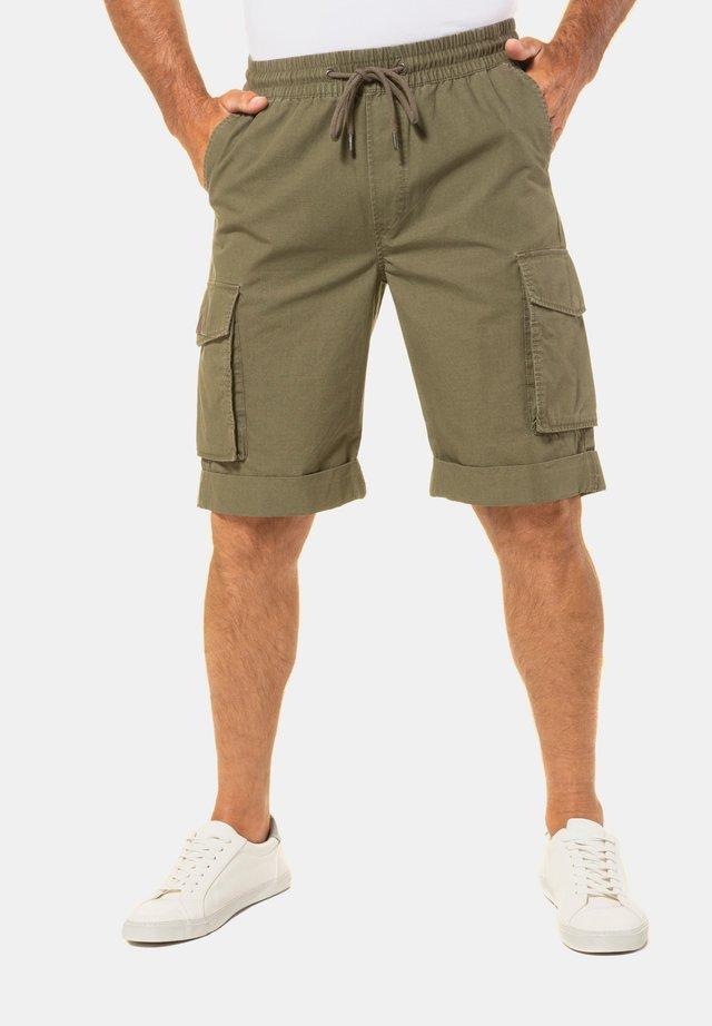 Shorts - dunkel-oliv