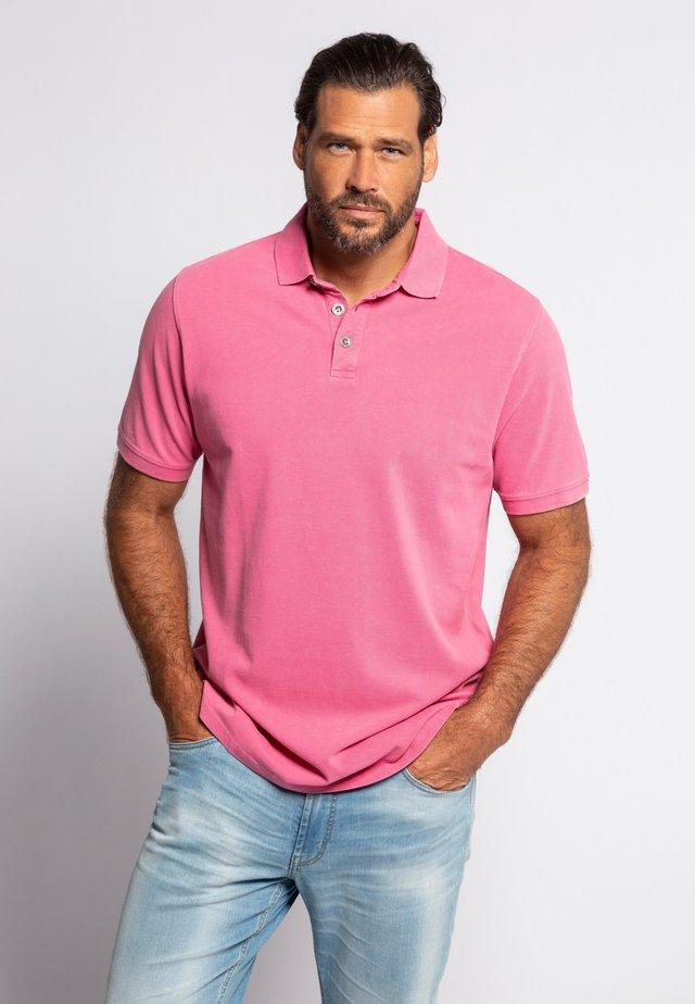 Polo shirt - magenta