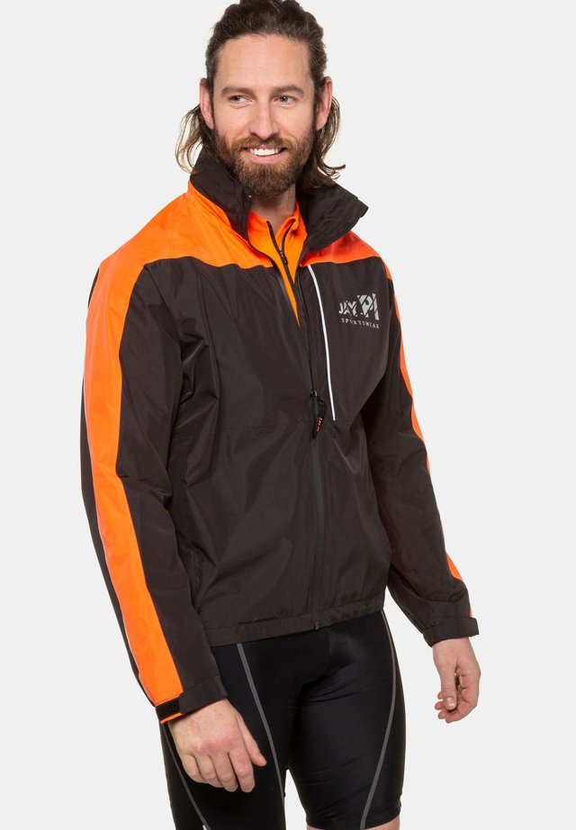 GROSSE GRÖSSEN FUNKTIONS - Outdoor jacket - schwarz