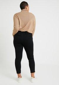 JUNAROSE - by VERO MODA - JRELSE ANKLE PANT - Pantalon classique - black - 2