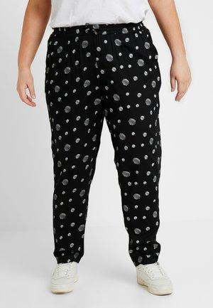 JRMADJA PANTS - Trousers - black/vanilla ice