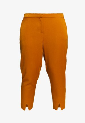 JRIBELL TAILORED ANKLE SLIT PANTS - Kalhoty - cathay spice