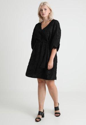 JRMADDIN 3/4 ABOVE KNEE DRESS - Cocktailjurk - black