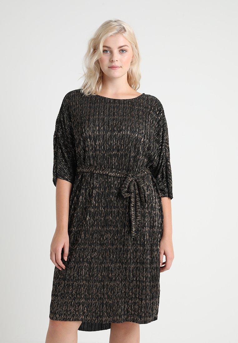 JUNAROSE - by VERO MODA - JRPALIPA 3/4 ABOVE KNEE DRESS - Kjole - black