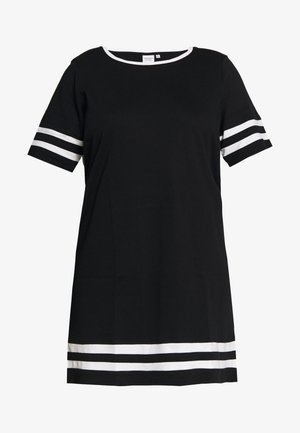 JRLIZETTE  - Robe en jersey - black/snow white