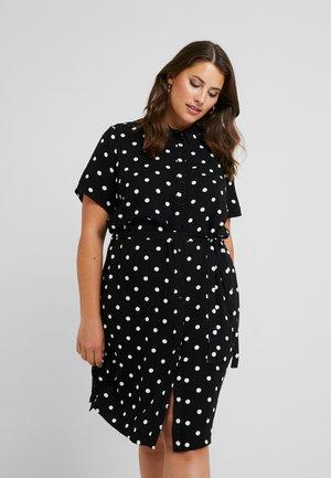 JRTRACY KNEE DRESS - Skjortklänning - black/white