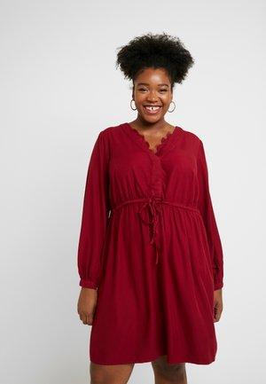 JRNESJA DRESS - Denní šaty - biking red