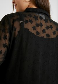 JUNAROSE - by VERO MODA - JRMARIZA SLEEVES KNEE DRESS - Skjortekjole - black - 6