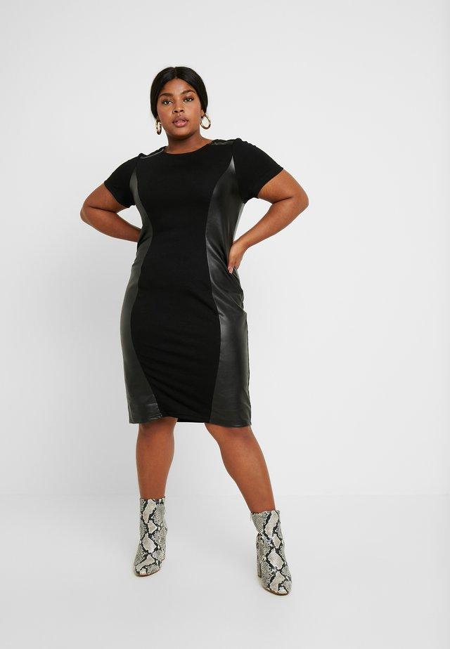 JRMONICA DRESS - Jerseyjurk - black