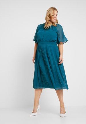 JRMUZZ SLEEVES MIDI DRESS  - Koktejlové šaty/ šaty na párty - moroccan blue