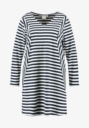 RISE ABOVE DRESS - Žerzejové šaty - navy blazer/snow white