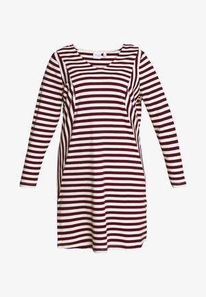 RISE ABOVE DRESS - Robe en jersey - madder brown/vanilla ice