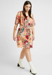 JUNAROSE - by VERO MODA - JRJESSICA KNEE DRESS - Day dress - ash rose - 4