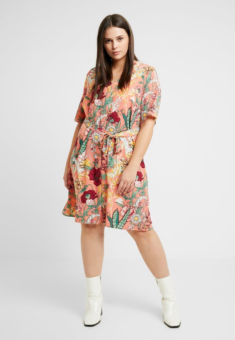 JUNAROSE - by VERO MODA - JRJESSICA KNEE DRESS - Sukienka letnia - ash rose