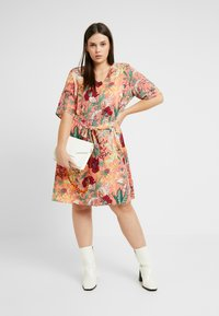 JUNAROSE - by VERO MODA - JRJESSICA KNEE DRESS - Day dress - ash rose - 2