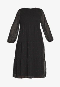 JUNAROSE - by VERO MODA - JROLIVA DRESS - Korte jurk - black - 5