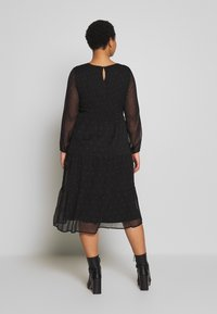 JUNAROSE - by VERO MODA - JROLIVA DRESS - Korte jurk - black - 2