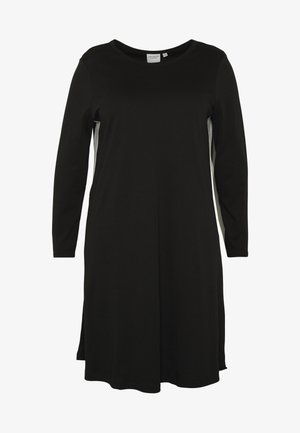 JRCHARLOTTE ABOVE KNEE DRESS - Robe en jersey - black