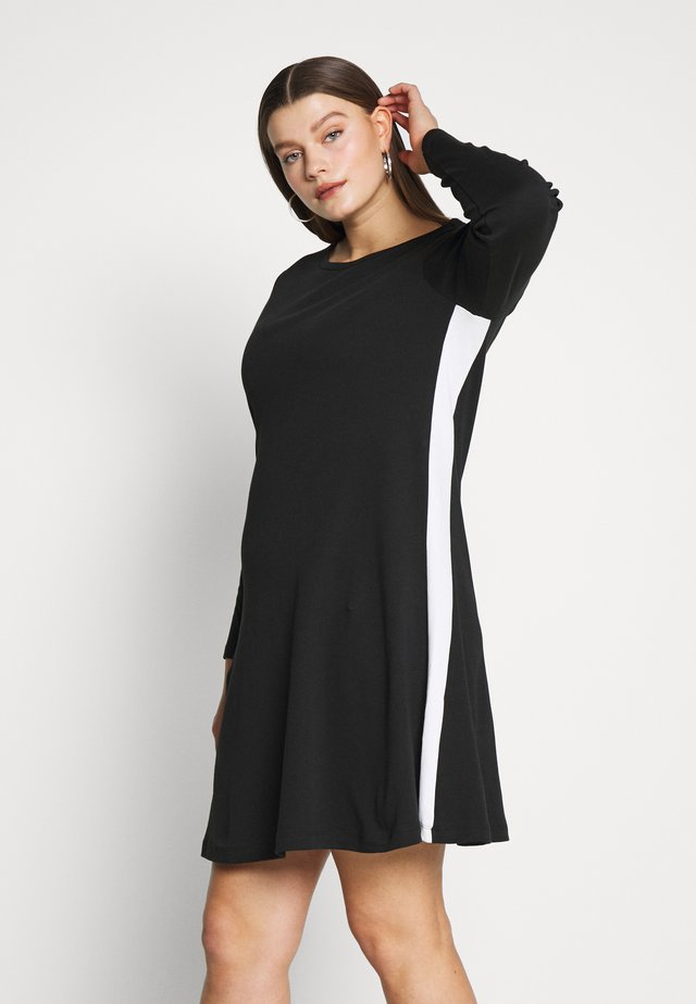 JRCHARLOTTE ABOVE KNEE DRESS - Jersey dress - black