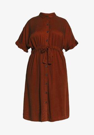 JRALWIA  - Košilové šaty - madder brown