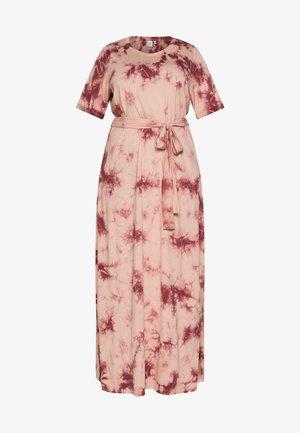 JRMIINA - Maxi šaty - mahogany rose