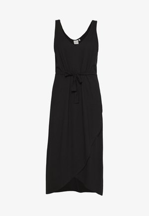 JRALVIA MIDI DRESS - Vestito di maglina - black