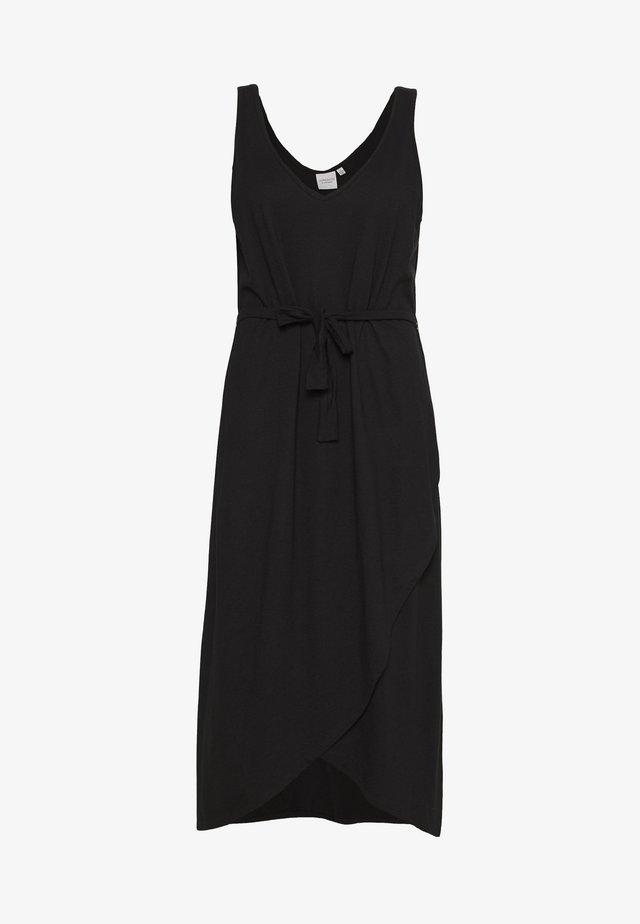 JRALVIA MIDI DRESS - Sukienka z dżerseju - black
