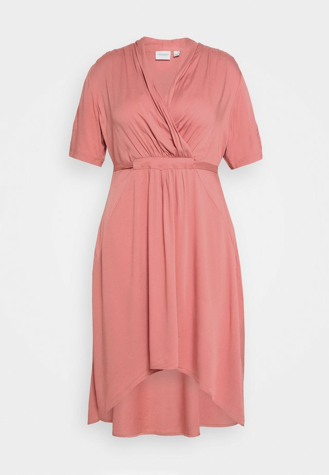 JRSINKA ABOVE DRESS - Korte jurk - canyon rose