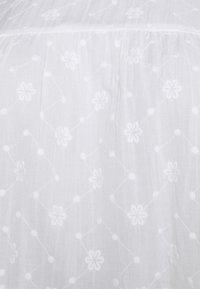 JUNAROSE - by VERO MODA - JRDAISY ABOVE KNEE DRESS  - Korte jurk - snow white - 2