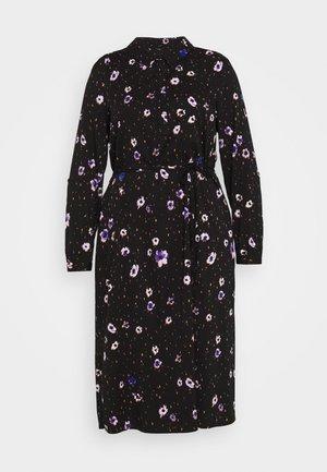 JROTEA MIDI DRESS  - Shirt dress - black