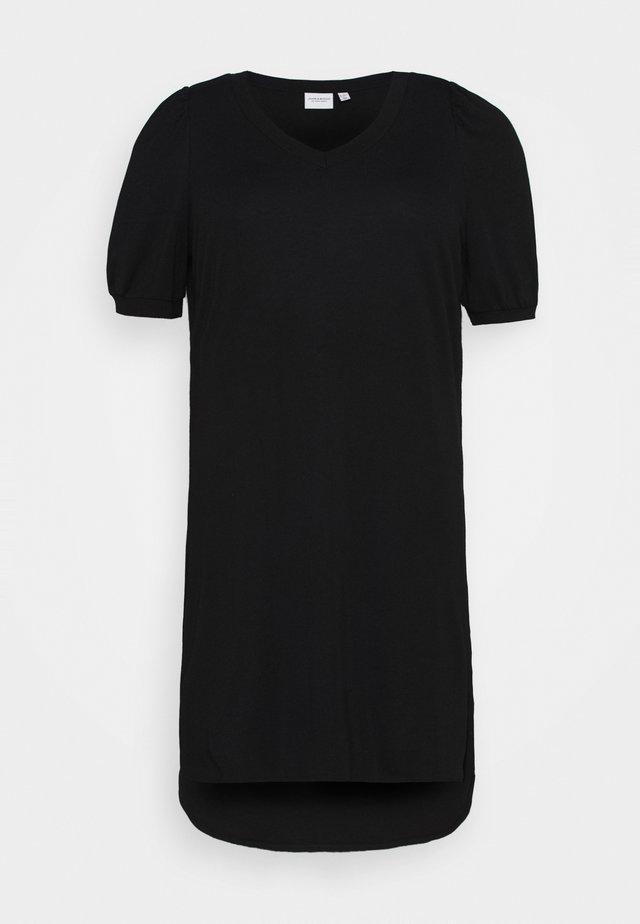 JRCHASE HIGH LOW DRESS - Jerseyjurk - black