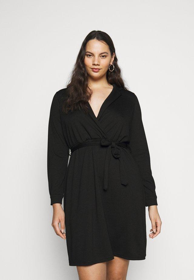 JRJENIVER ABOVE KNEE DRESS - Sukienka letnia - black