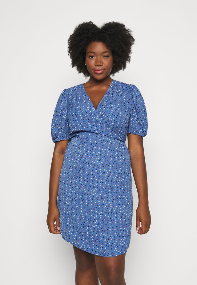 JRBINTA KNEE DRESS  - Korte jurk - granada sky/multi colors
