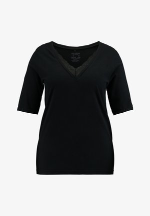 JRLIA SEAMLESS - Print T-shirt - black