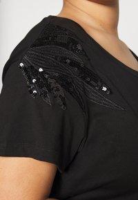 JUNAROSE - by VERO MODA - JRFLUAS - T-shirts print - black - 5
