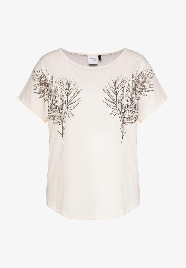 JRALLY  - T-shirt z nadrukiem - vanilla ice