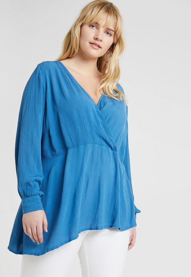 JRTIANA BLOUSE - Camicetta - vallarta blue