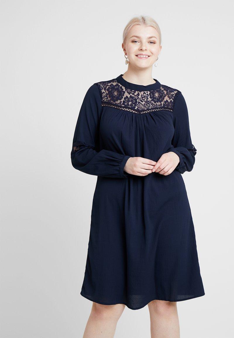 Junarose - JREMO KNEE DRESS - Day dress - navy blazer