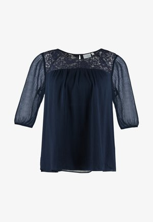 JRCAROLINA 3/4 BLOUSE - Blus - navy blazer