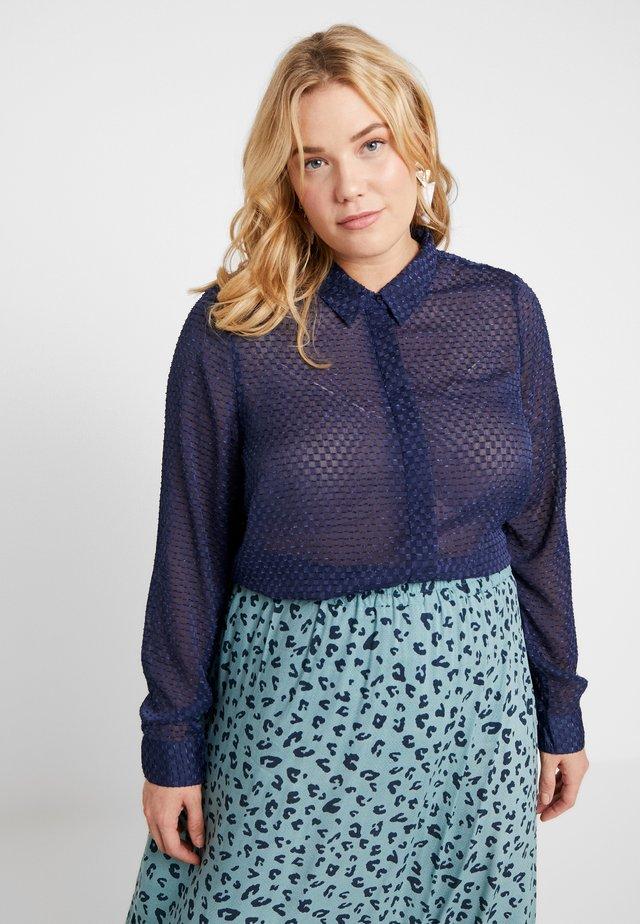 JRPELLE - Button-down blouse - peacoat