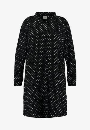 JRNELLY LONG - Skjorte - black/snow white