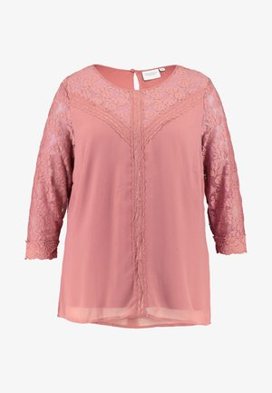 JRELYSA SLEEVE BLOUSE - Camicetta - withered rose