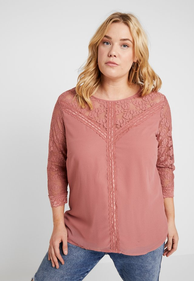 JRELYSA SLEEVE BLOUSE - Bluse - withered rose